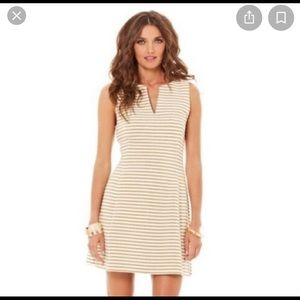 Lilly Pulitzer Brielle Dress - White and Gold